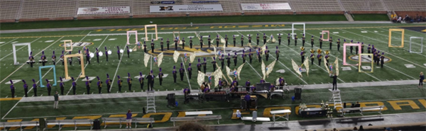 Band Has Excellent Showing at MU Competition