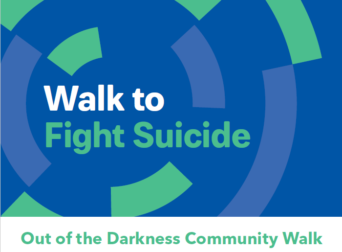 """Out of Darkness Walk"" - Support the HOPE Club"