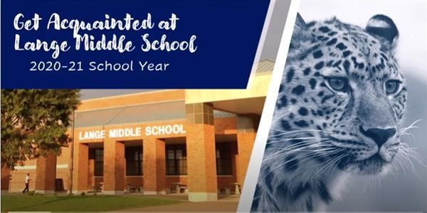 Get Acquainted at Lange Middle School 2020-21