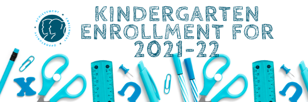 We're looking forward to welcoming our new kindergarten students in the 2021-22 school year! Online