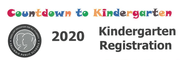 Kindergarten registration: Thursday, March 5th 4-6