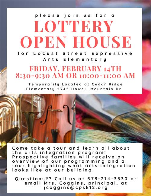 Lottery Open House