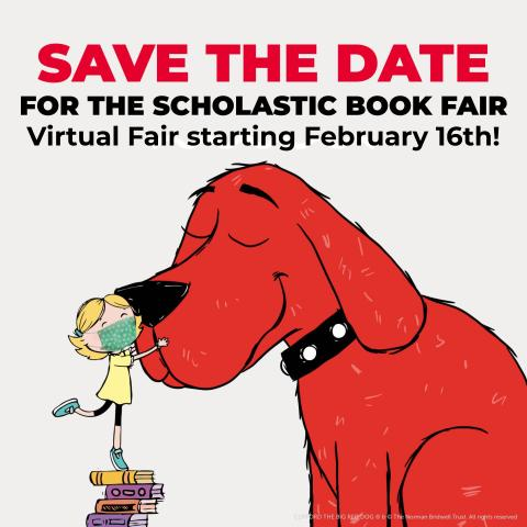 Virtual Book Fair begins February 16th!