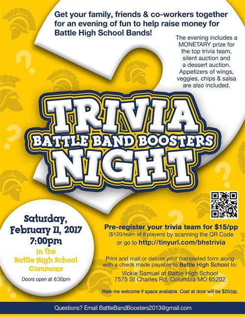 Battle Trivia Night