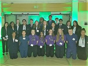 CPS HOSA Students