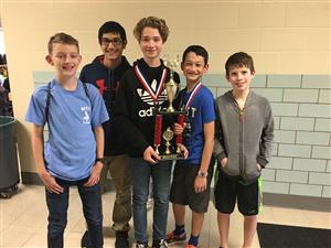 West Quiz Bowl team members