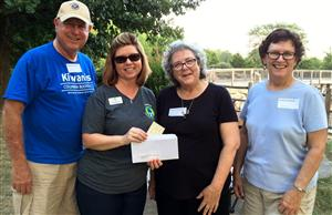 Boonslick Kiwanis supports Parents As Teachers