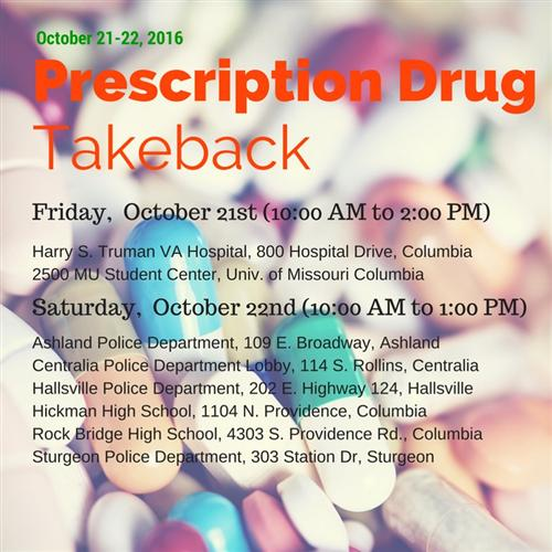 Prescription drug takeback