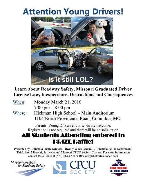 Young Drivers Flyer