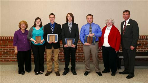Northeast/Central Missouri Region Career and Technical Exceptional Students of the Year
