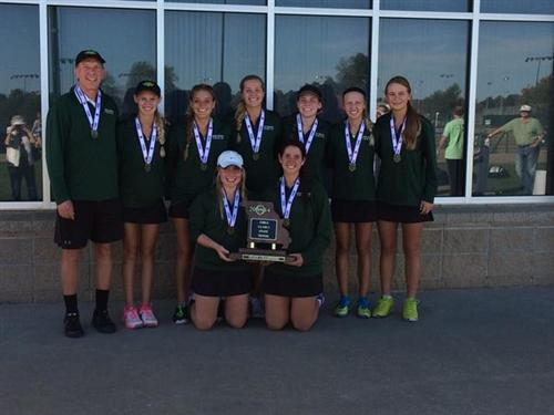 Rock Bridge High School girls' tennis team