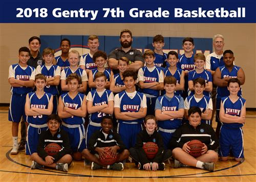 7th Boys Basketball Team