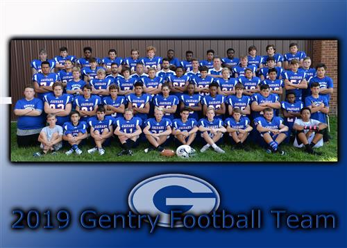 2019 Gentry Football Team