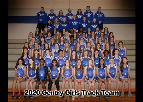 2020 Girls Track and Field Team