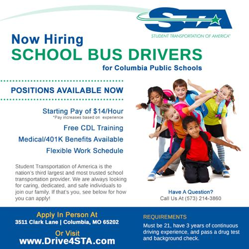 Employment / STA Bus Driver Opportunities