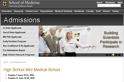 MU Mini Med School