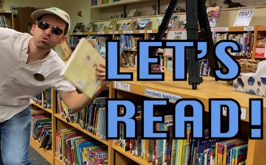 """Let's Read!"" music video"