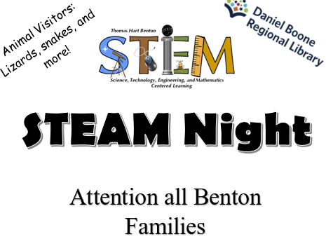 STEAM Night on Oct. 21st