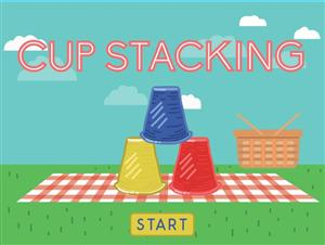 Cup Stacking, Jr.