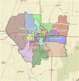 Existing Elementary Attendance Areas